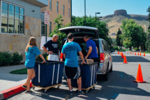 Move-in day at Mines